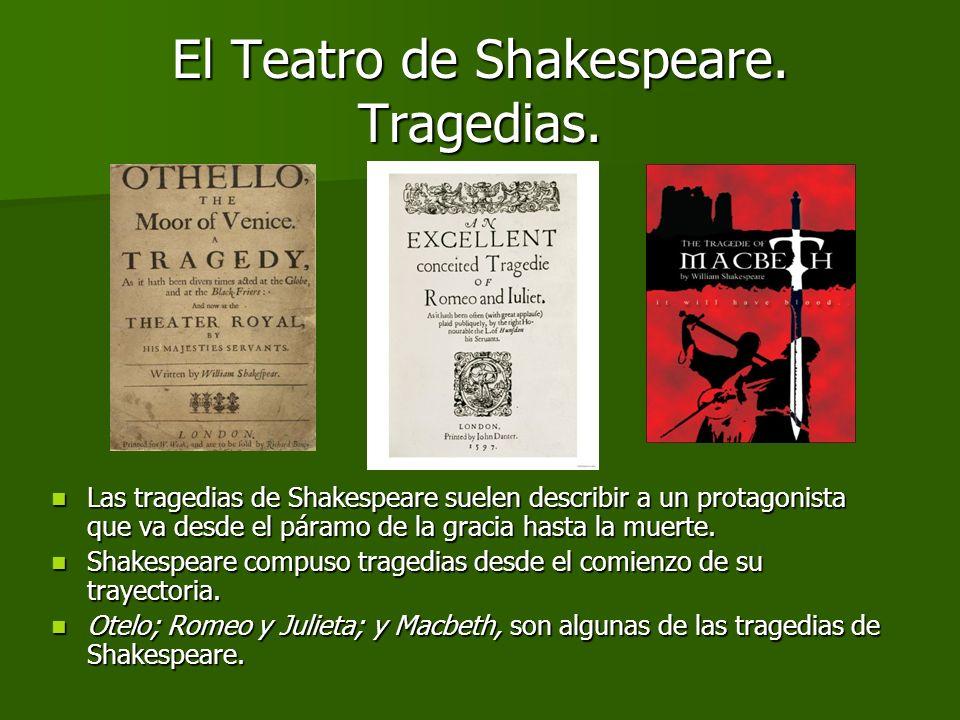 El Teatro de Shakespeare. Tragedias.