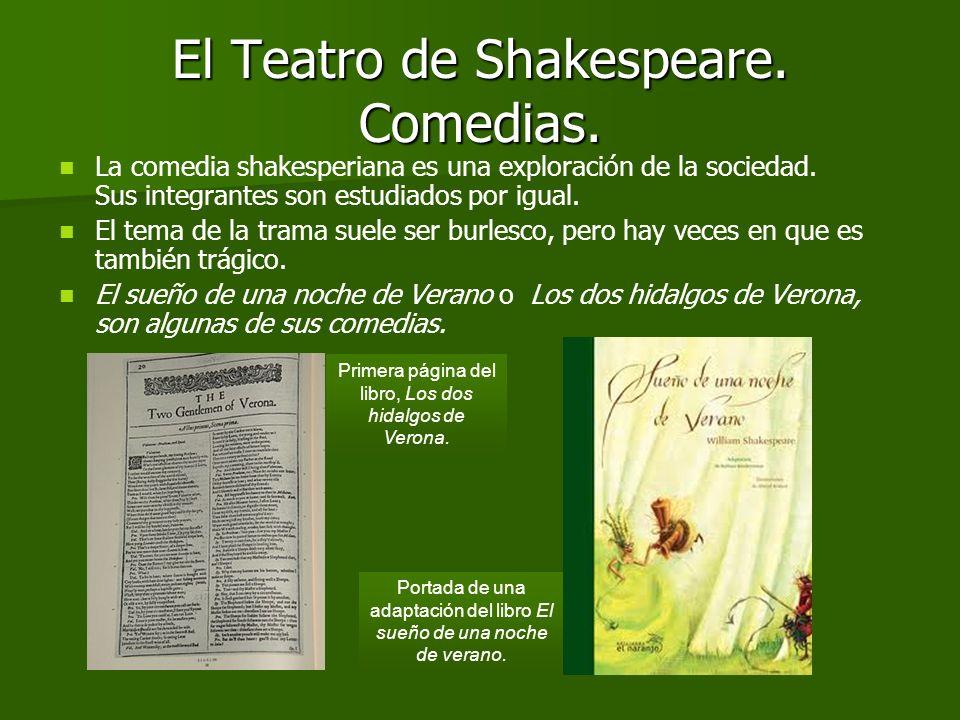 El Teatro de Shakespeare. Comedias.
