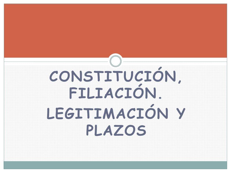 Constitución, Filiación.