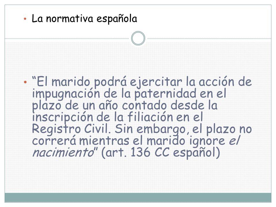 La normativa española