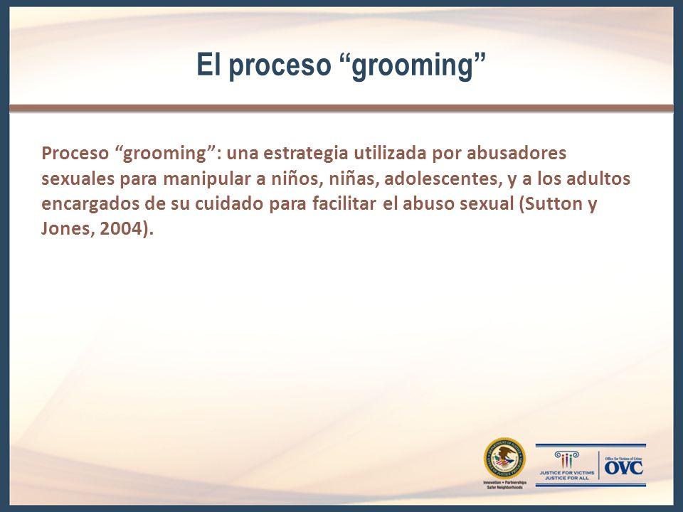 El proceso grooming