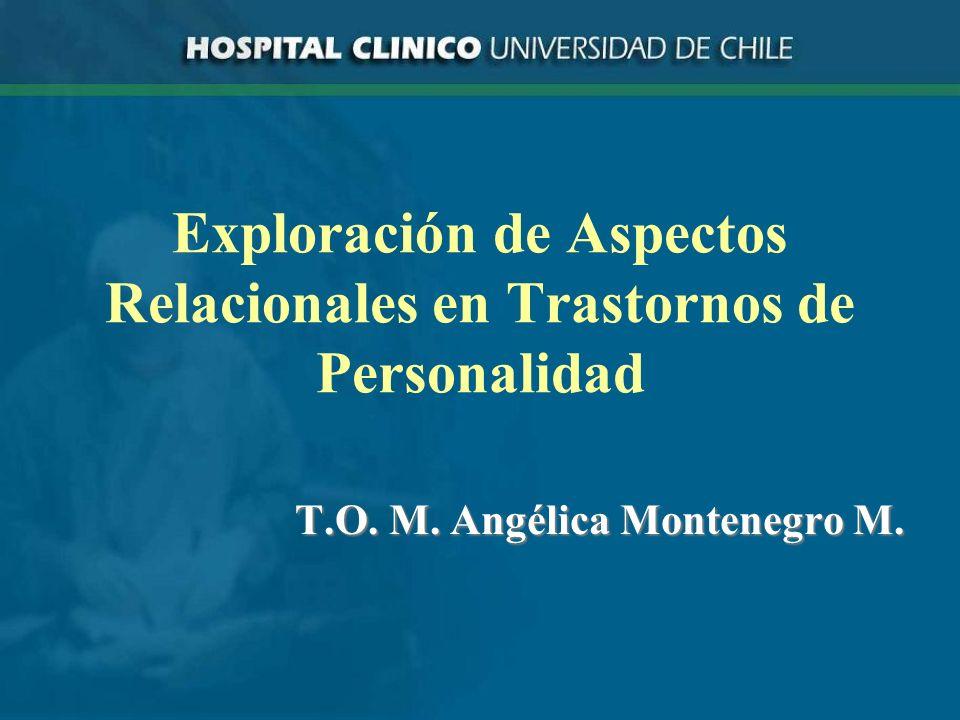 Exploración de Aspectos Relacionales en Trastornos de Personalidad
