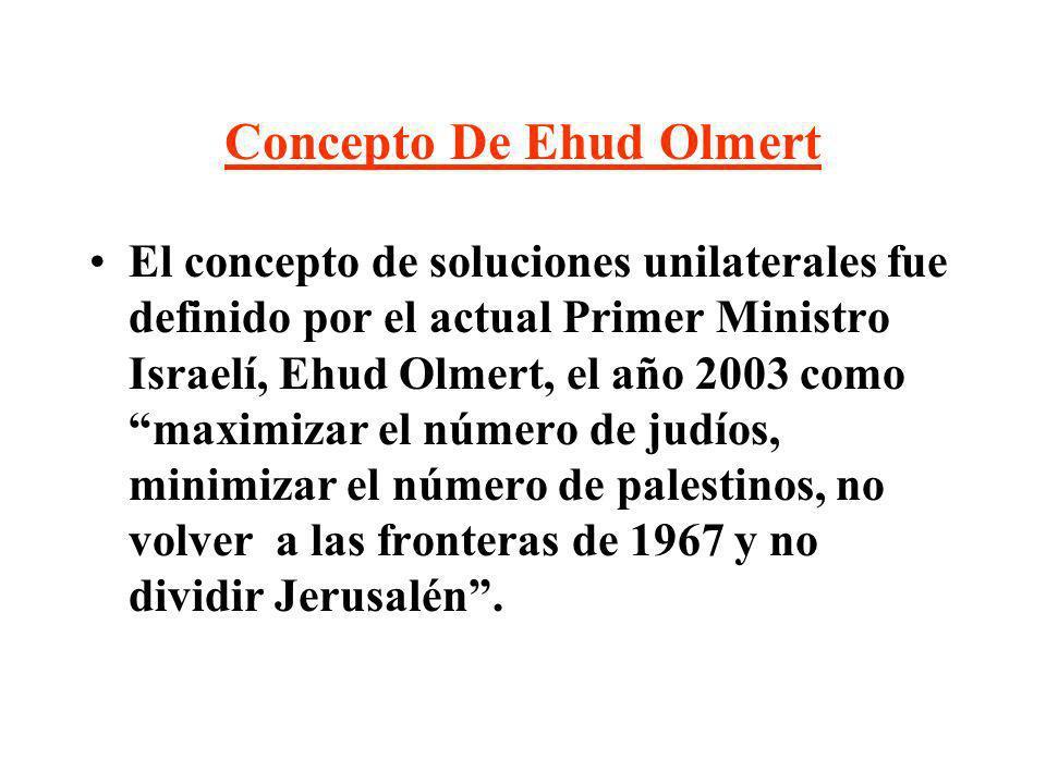 Concepto De Ehud Olmert