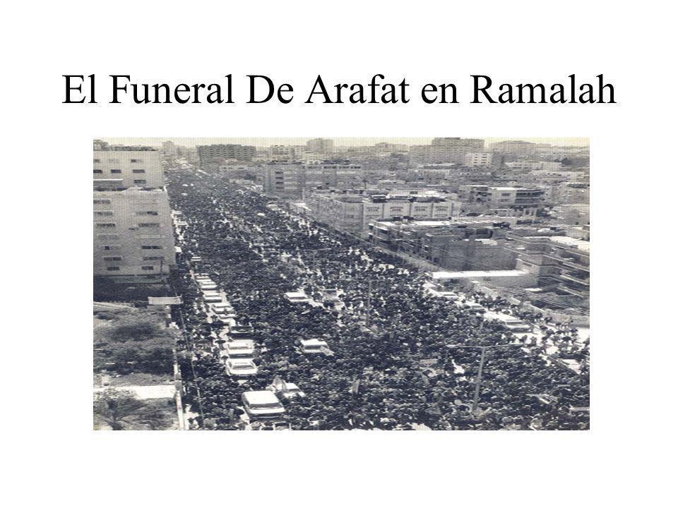 El Funeral De Arafat en Ramalah