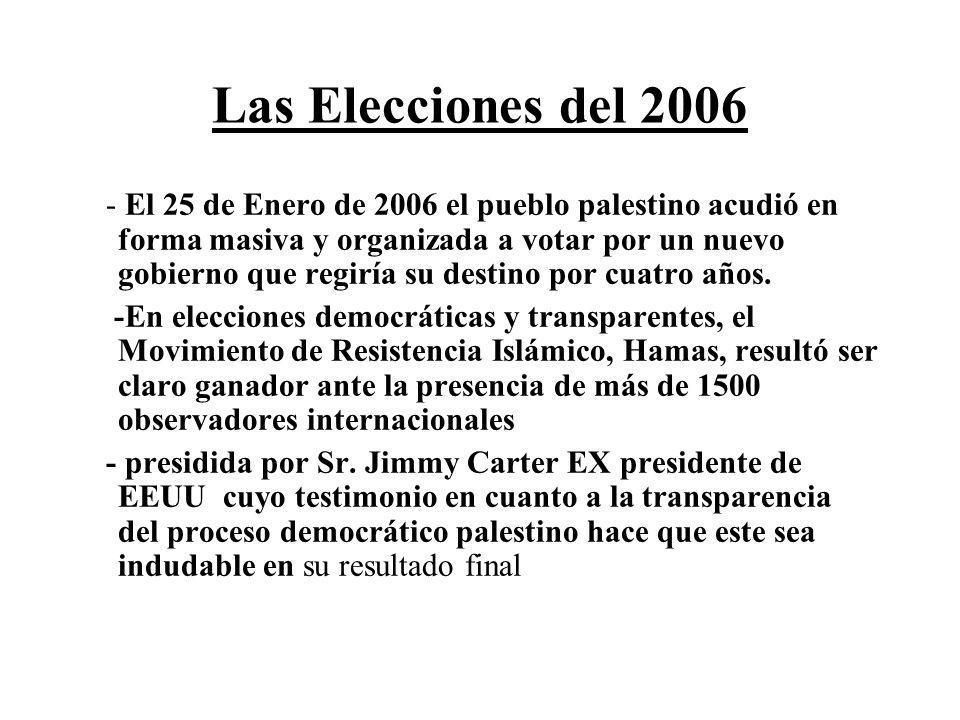 Las Elecciones del 2006