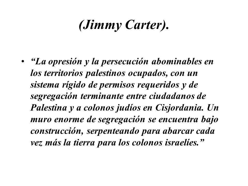 (Jimmy Carter).