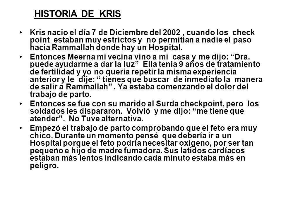HISTORIA DE KRIS