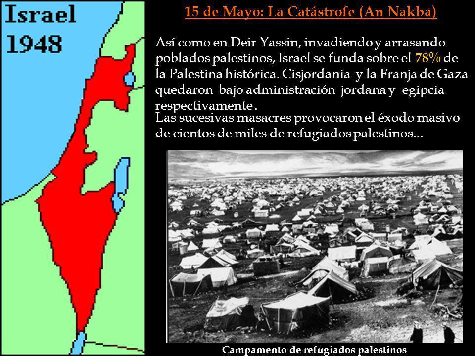 15 de Mayo: La Catástrofe (An Nakba)