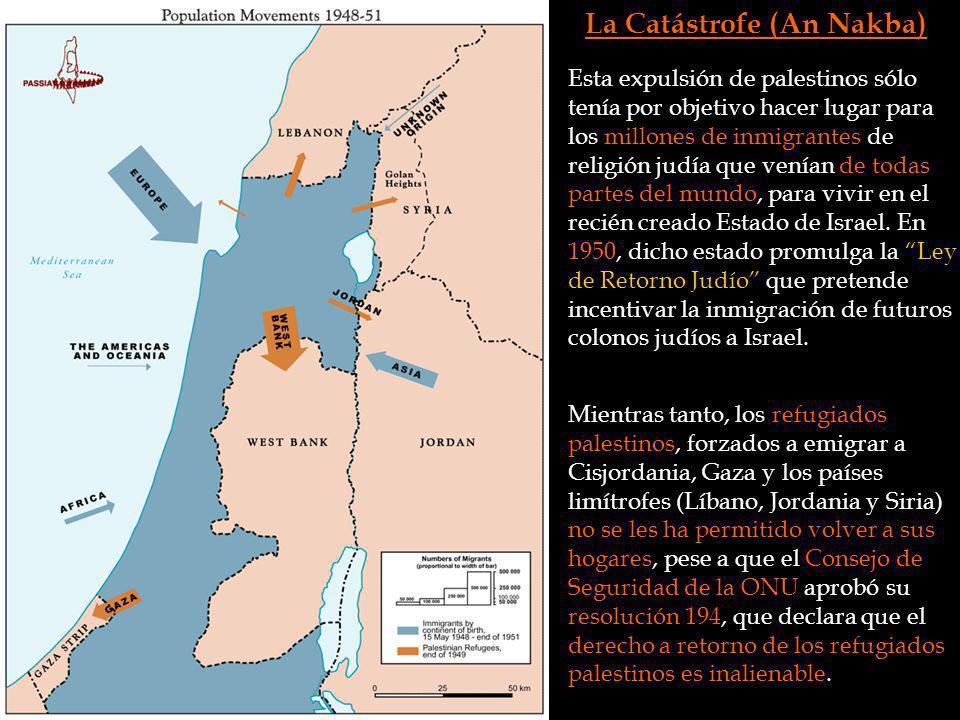 La Catástrofe (An Nakba)