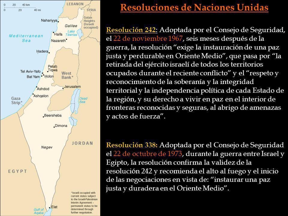 Resoluciones de Naciones Unidas