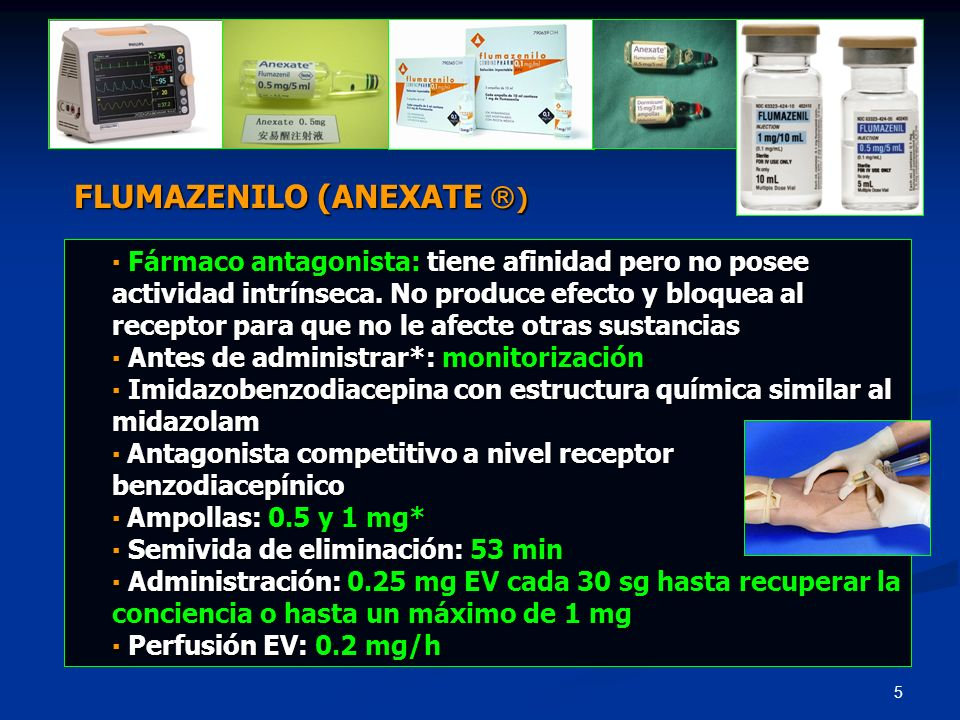 FLUMAZENILO (ANEXATE )