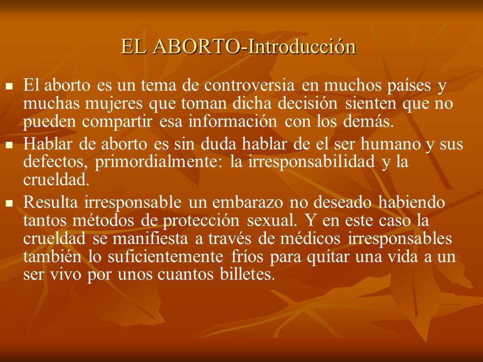 EL ABORTO-Introducción