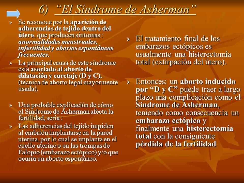 6) El Síndrome de Asherman