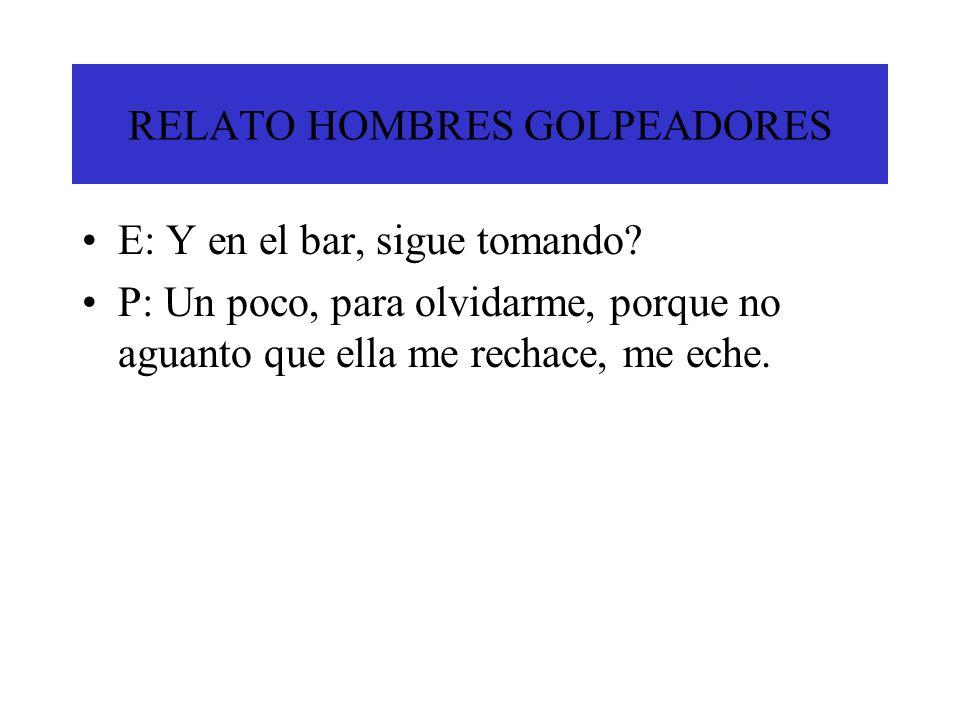 RELATO HOMBRES GOLPEADORES