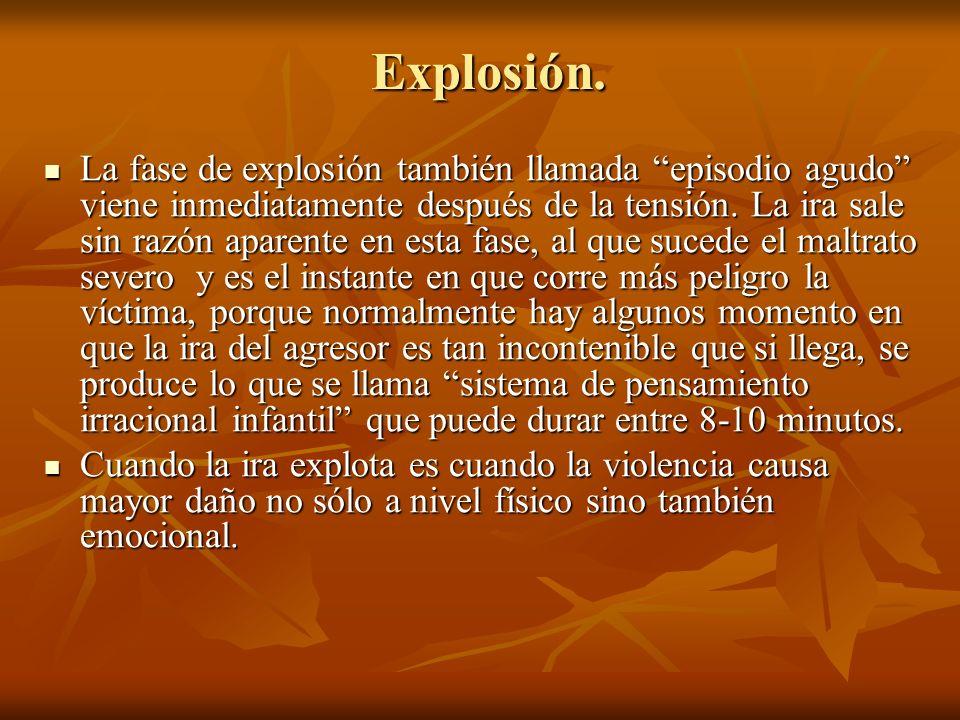 Explosión.