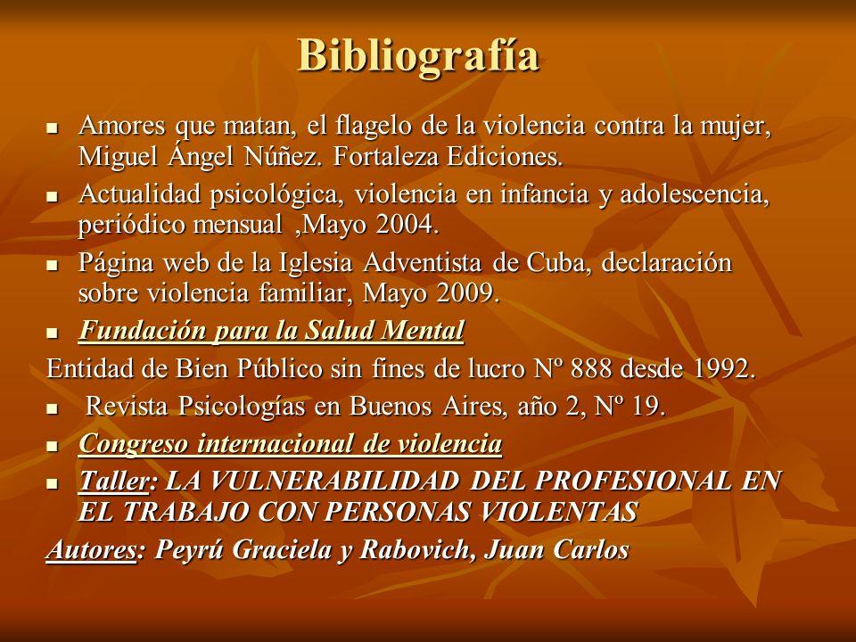 Bibliografía Amores que matan, el flagelo de la violencia contra la mujer, Miguel Ángel Núñez. Fortaleza Ediciones.