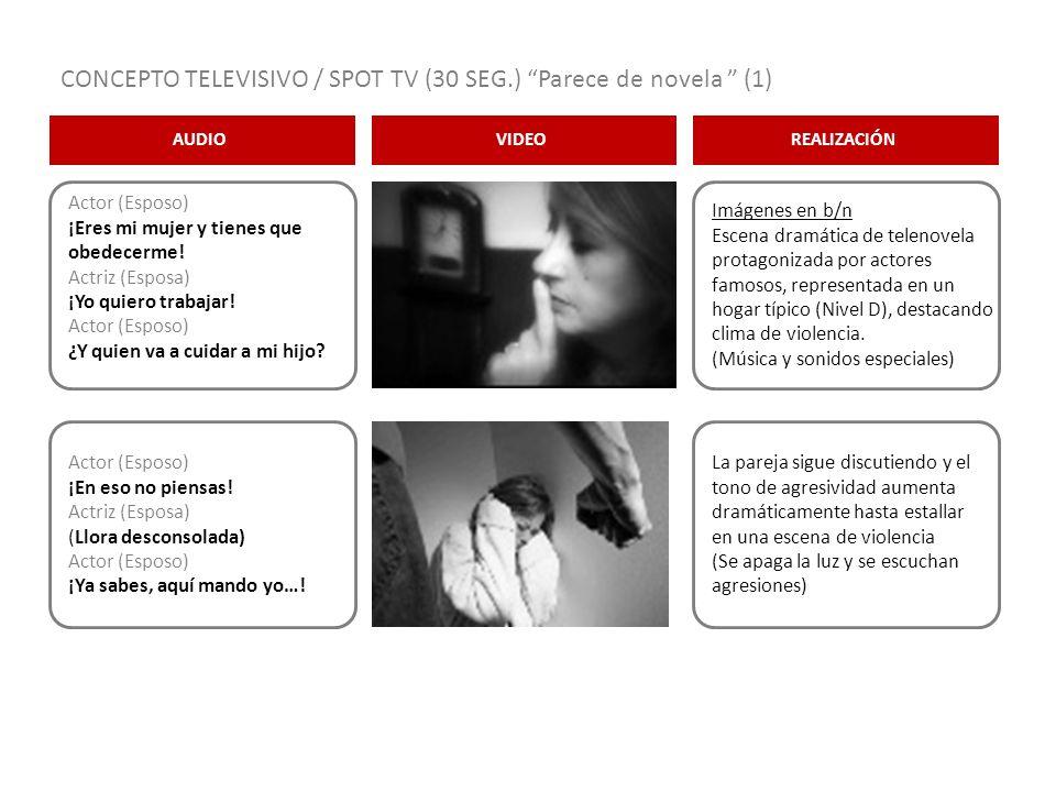 CONCEPTO TELEVISIVO / SPOT TV (30 SEG.) Parece de novela (1)