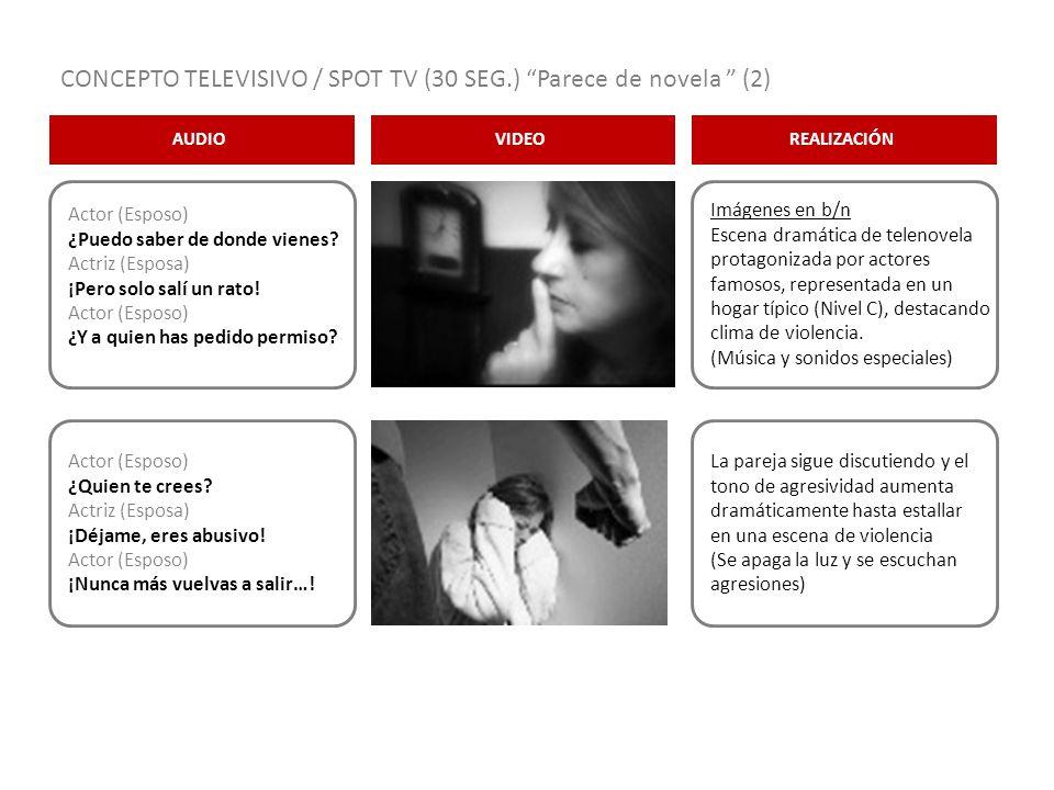 CONCEPTO TELEVISIVO / SPOT TV (30 SEG.) Parece de novela (2)