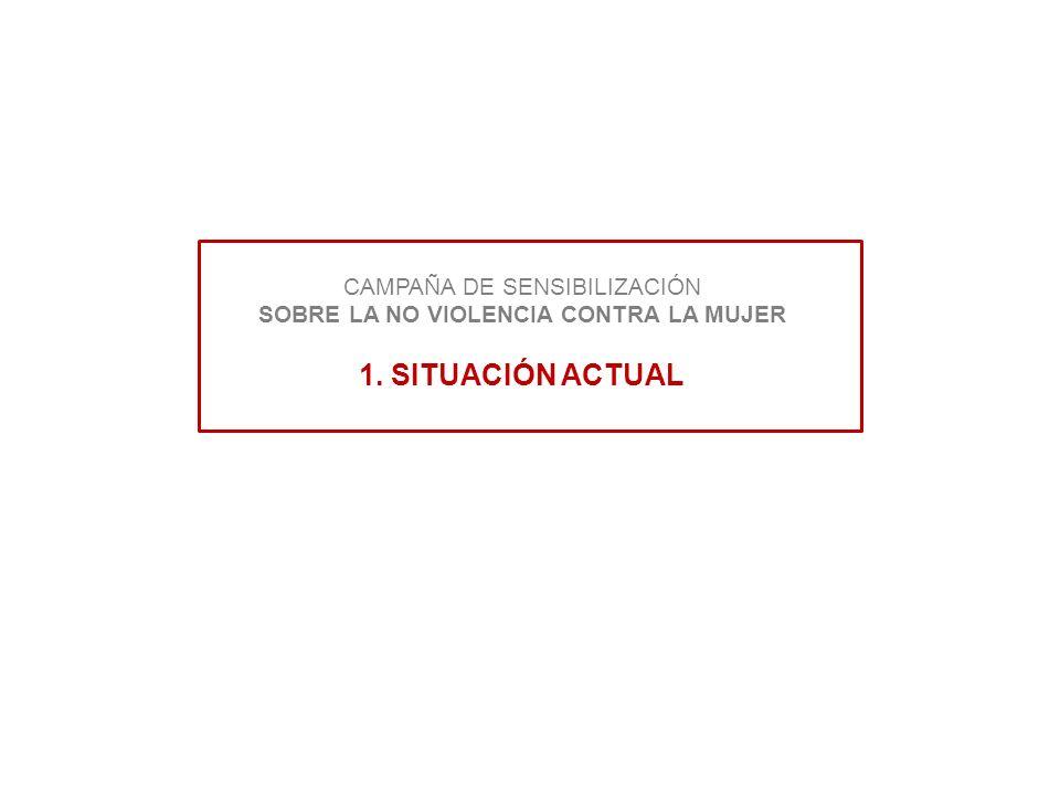 CAMPAÑA DE SENSIBILIZACIÓN SOBRE LA NO VIOLENCIA CONTRA LA MUJER 1
