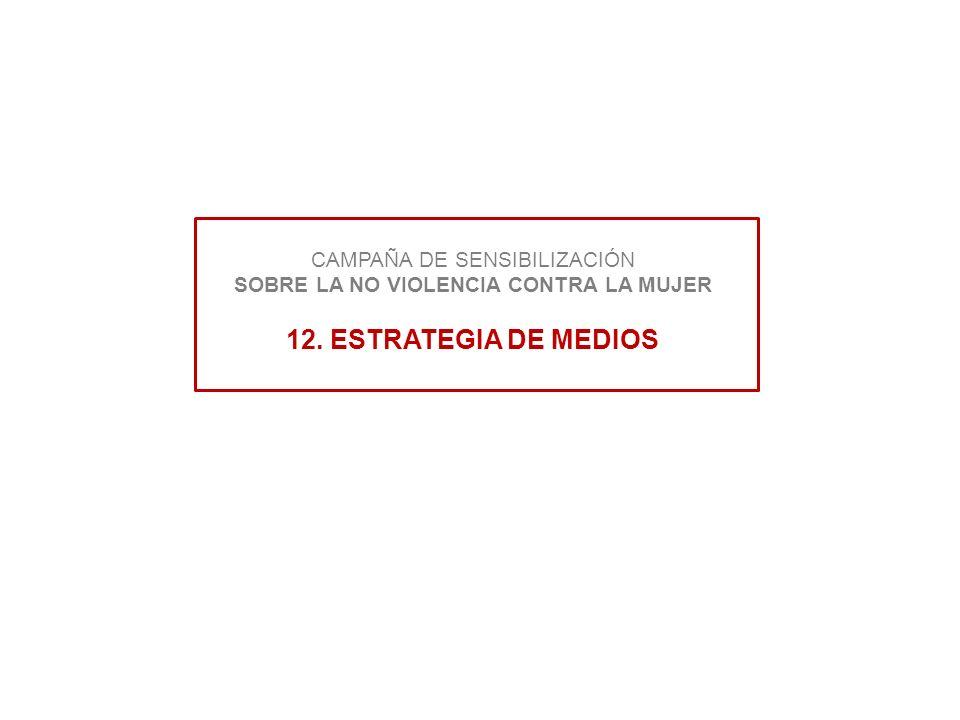CAMPAÑA DE SENSIBILIZACIÓN SOBRE LA NO VIOLENCIA CONTRA LA MUJER 12