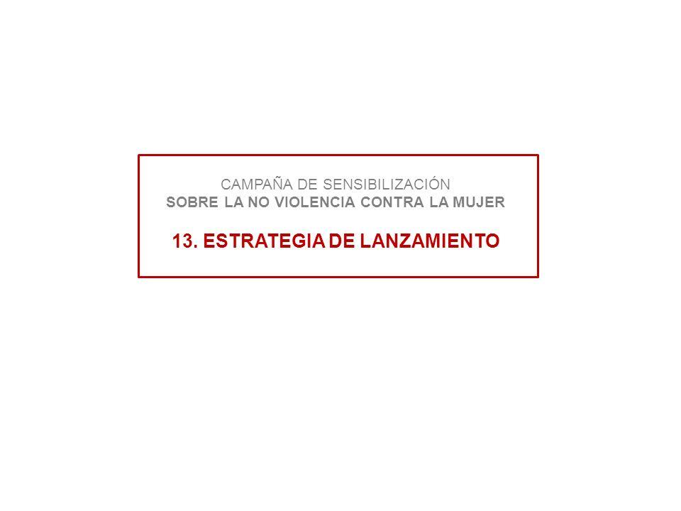 CAMPAÑA DE SENSIBILIZACIÓN SOBRE LA NO VIOLENCIA CONTRA LA MUJER 13