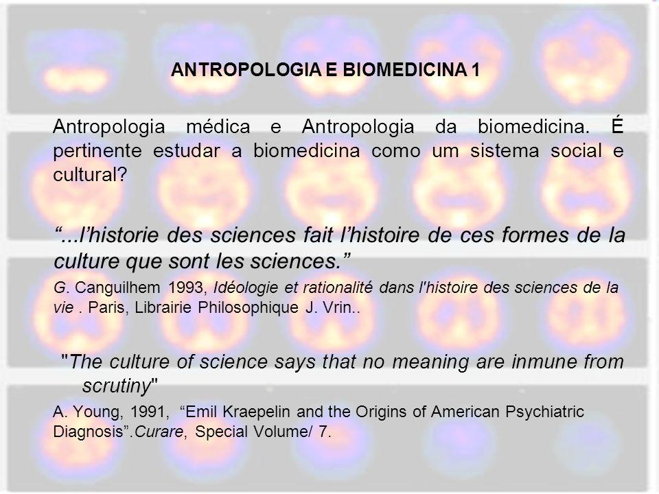 ANTROPOLOGIA E BIOMEDICINA 1