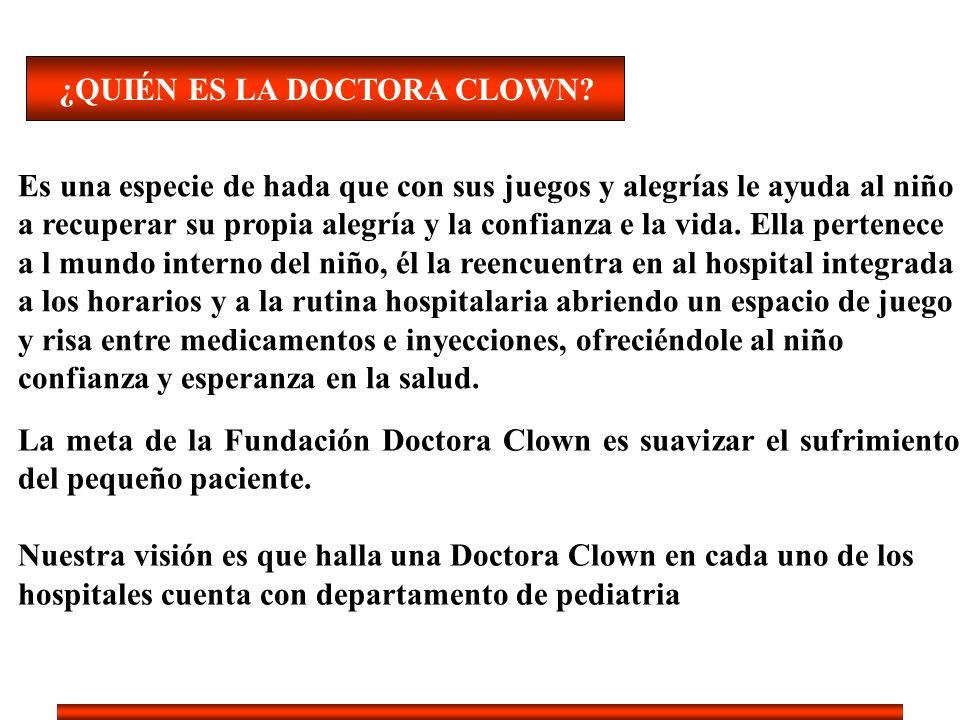 ¿QUIÉN ES LA DOCTORA CLOWN