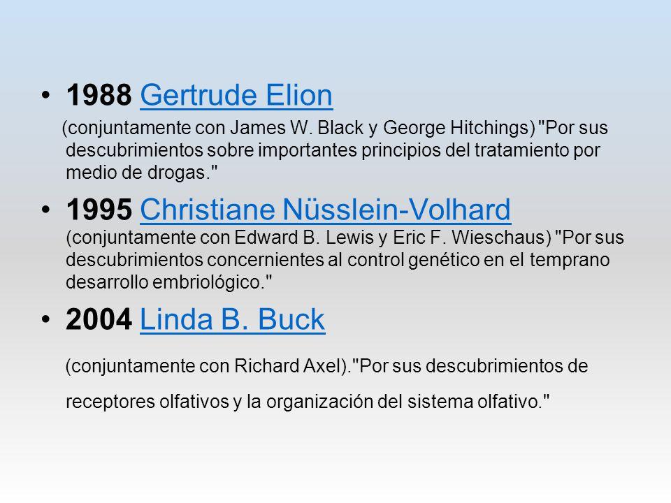 1988 Gertrude Elion