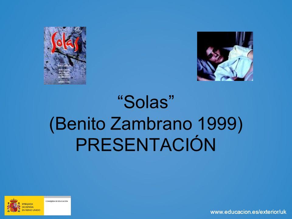 Solas (Benito Zambrano 1999) PRESENTACIÓN
