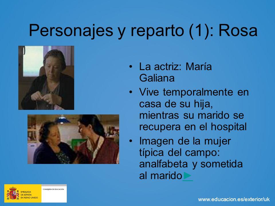 Personajes y reparto (1): Rosa