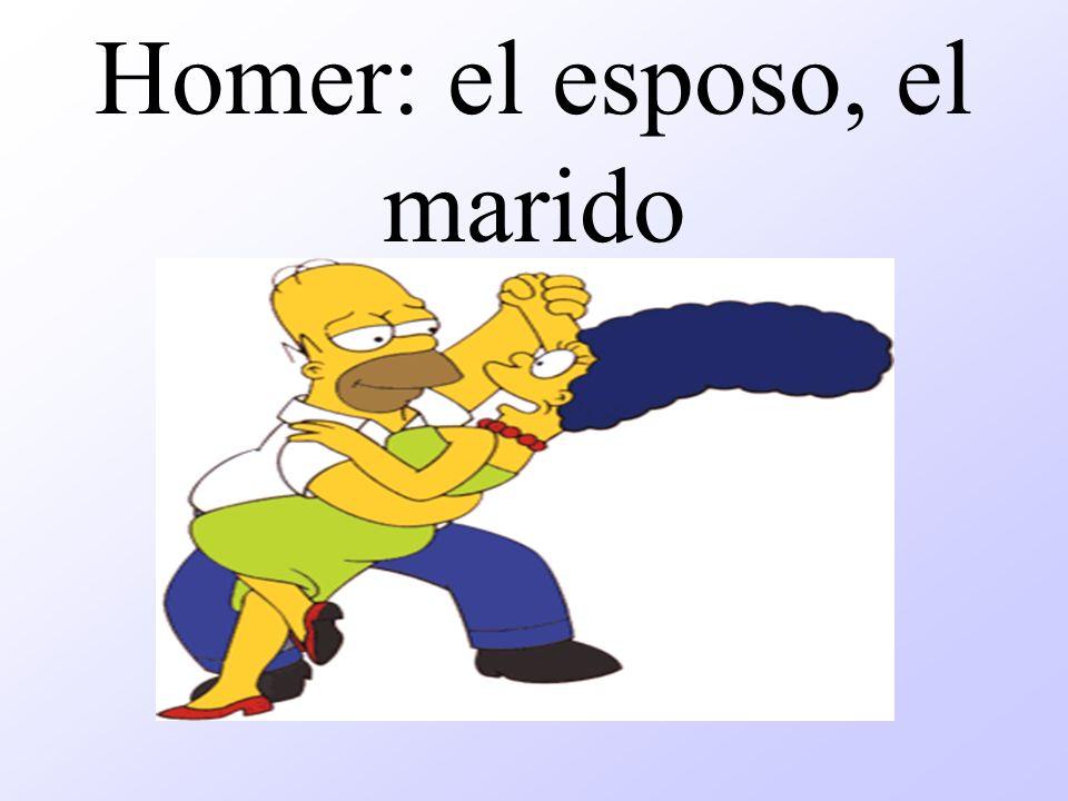 Homer: el esposo, el marido