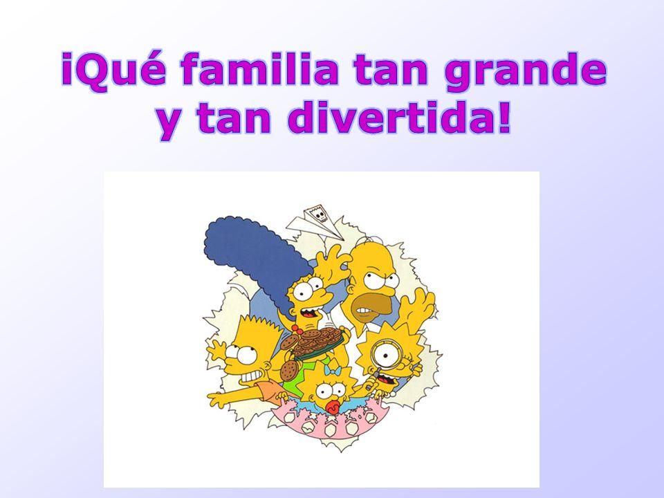 iQué familia tan grande y tan divertida!
