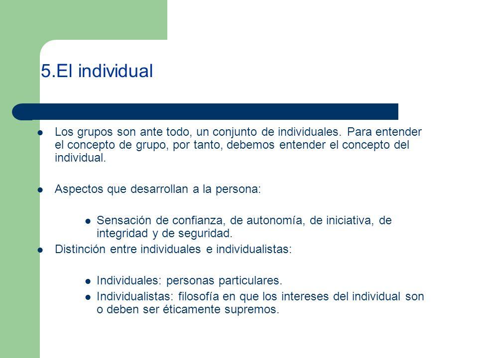5.El individual