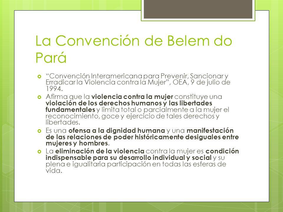 La Convención de Belem do Pará