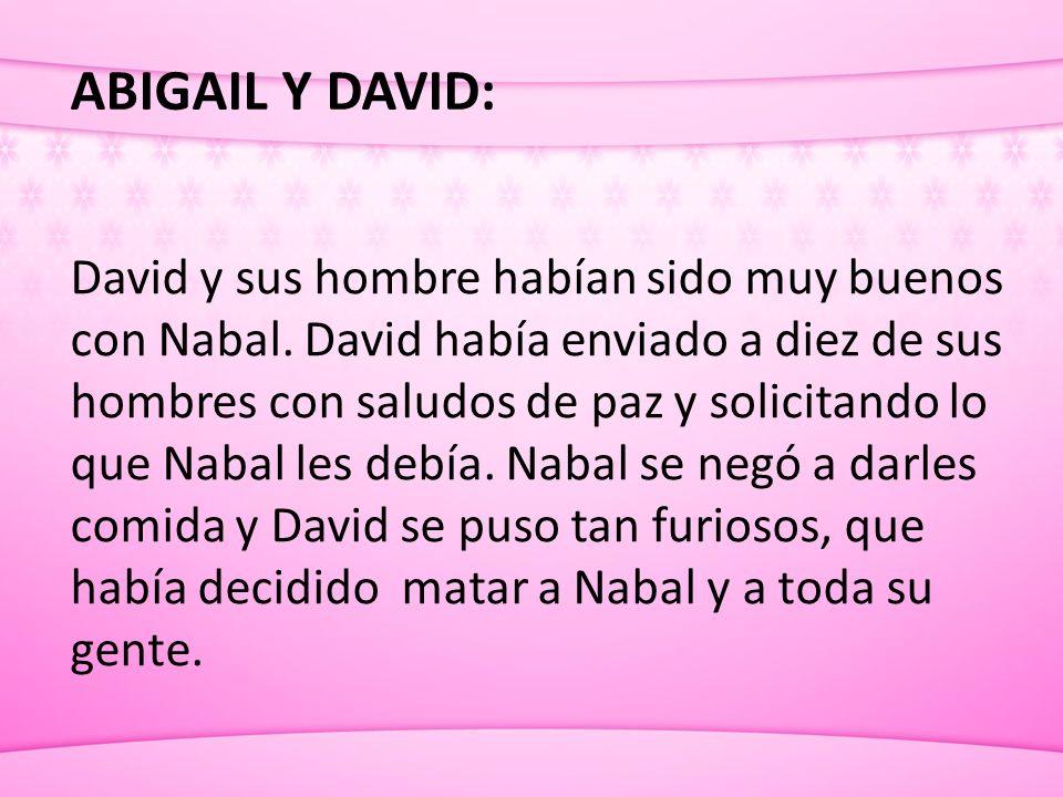 ABIGAIL Y DAVID: