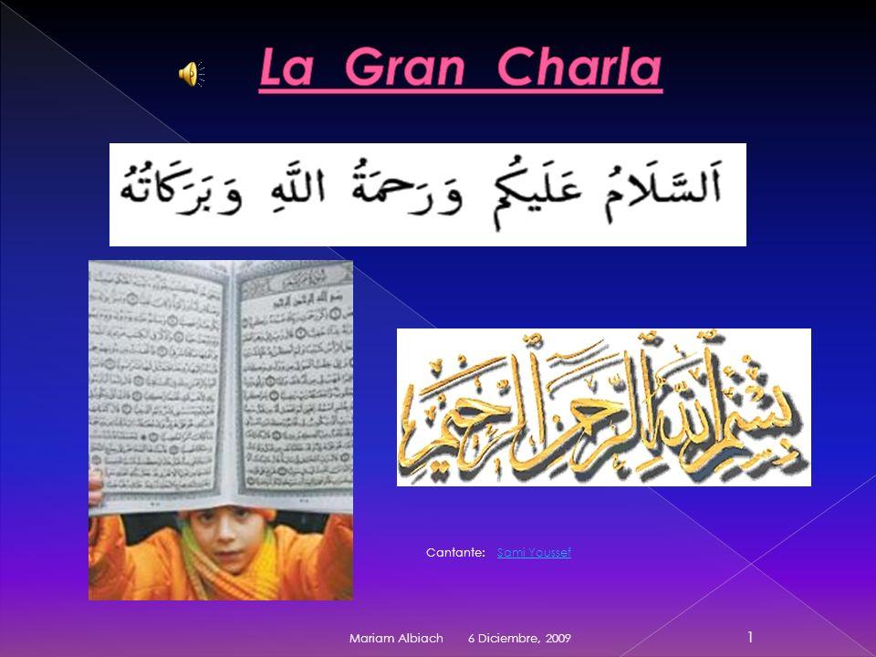 La Gran Charla Cantante: Sami Youssef Mariam Albiach 6 Diciembre, 2009