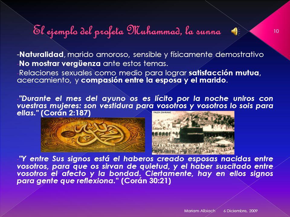 El ejemplo del profeta Muhammad, la sunna