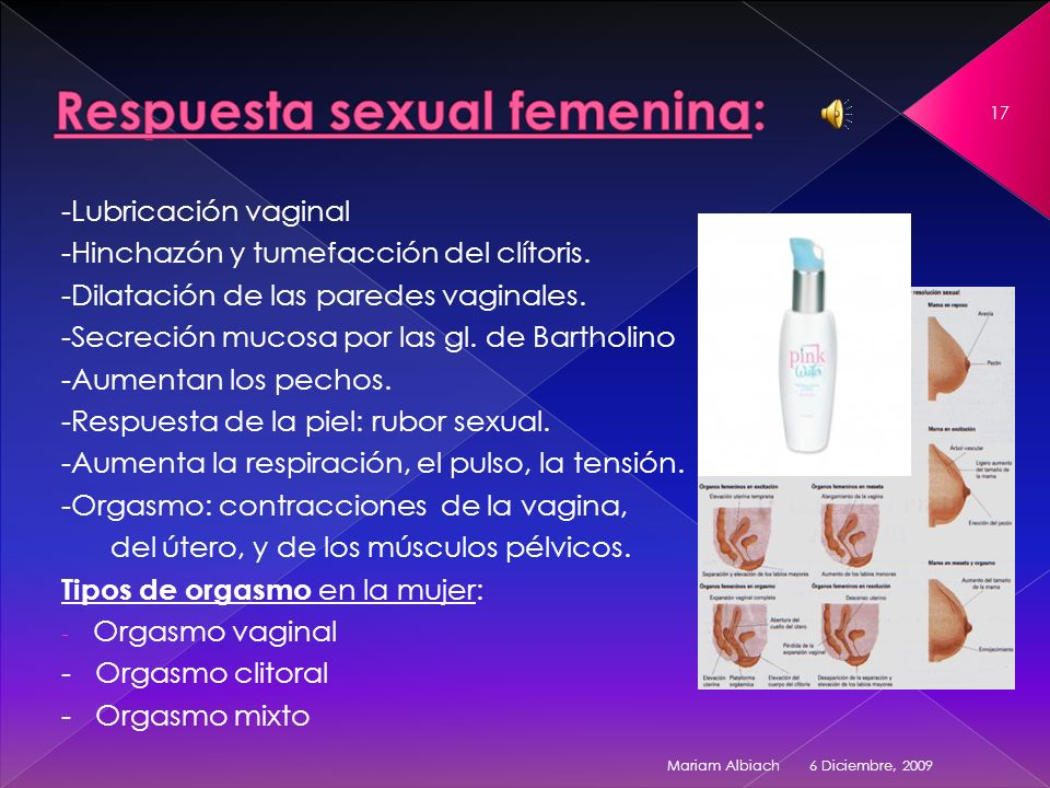 Respuesta sexual femenina: