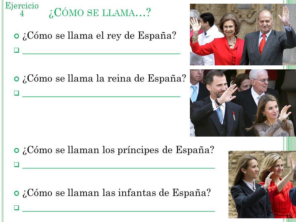 ¿Cómo se llama… ¿Cómo se llama el rey de España