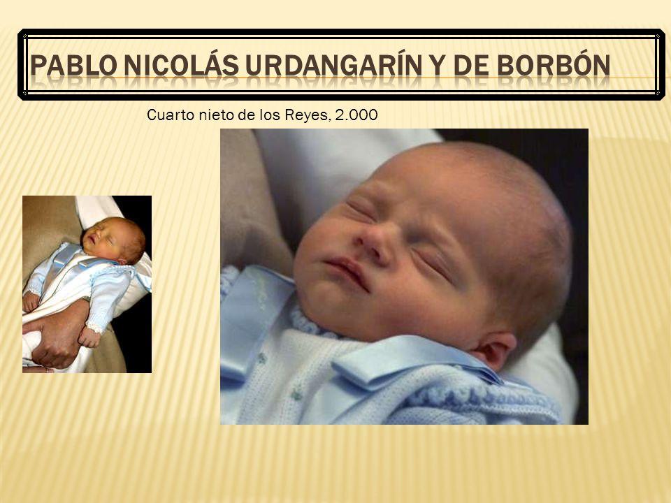 Pablo Nicolás Urdangarín y de Borbón