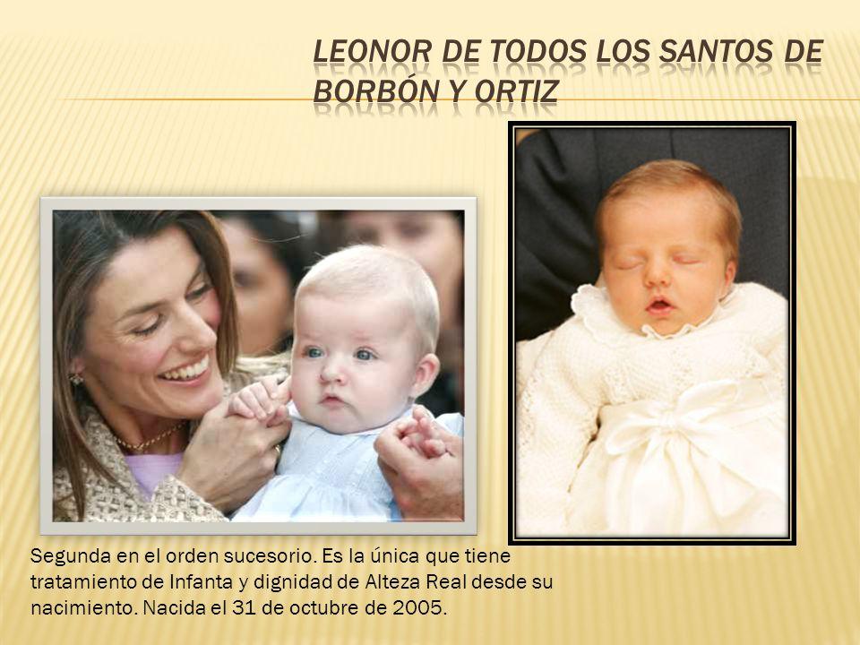 Leonor de Todos los Santos de Borbón y Ortiz