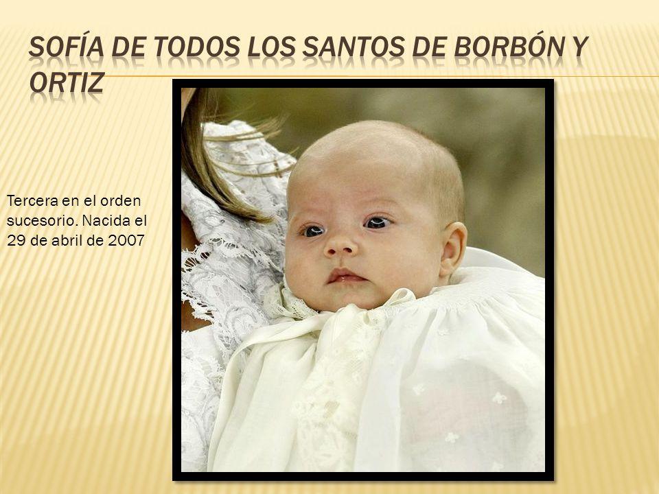 Sofía de Todos los Santos de Borbón y Ortiz