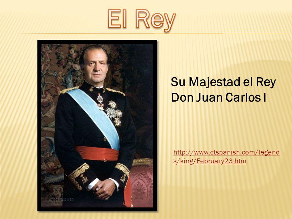 El Rey Su Majestad el Rey Don Juan Carlos I
