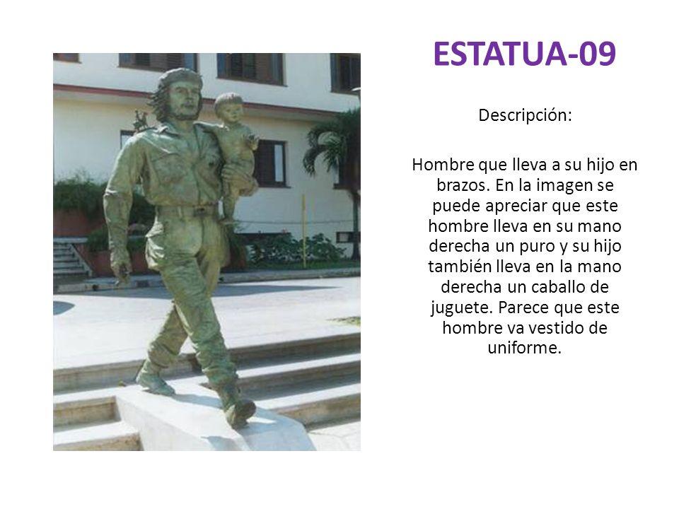 ESTATUA-09 Descripción: