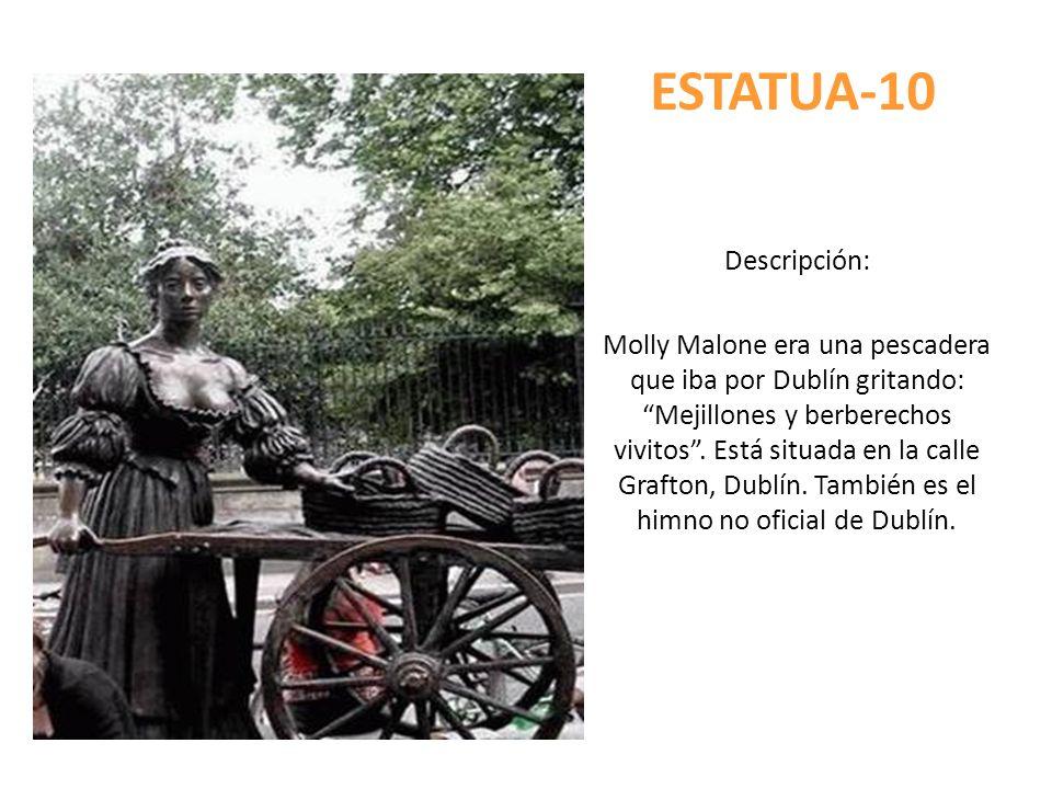 ESTATUA-10 Descripción:
