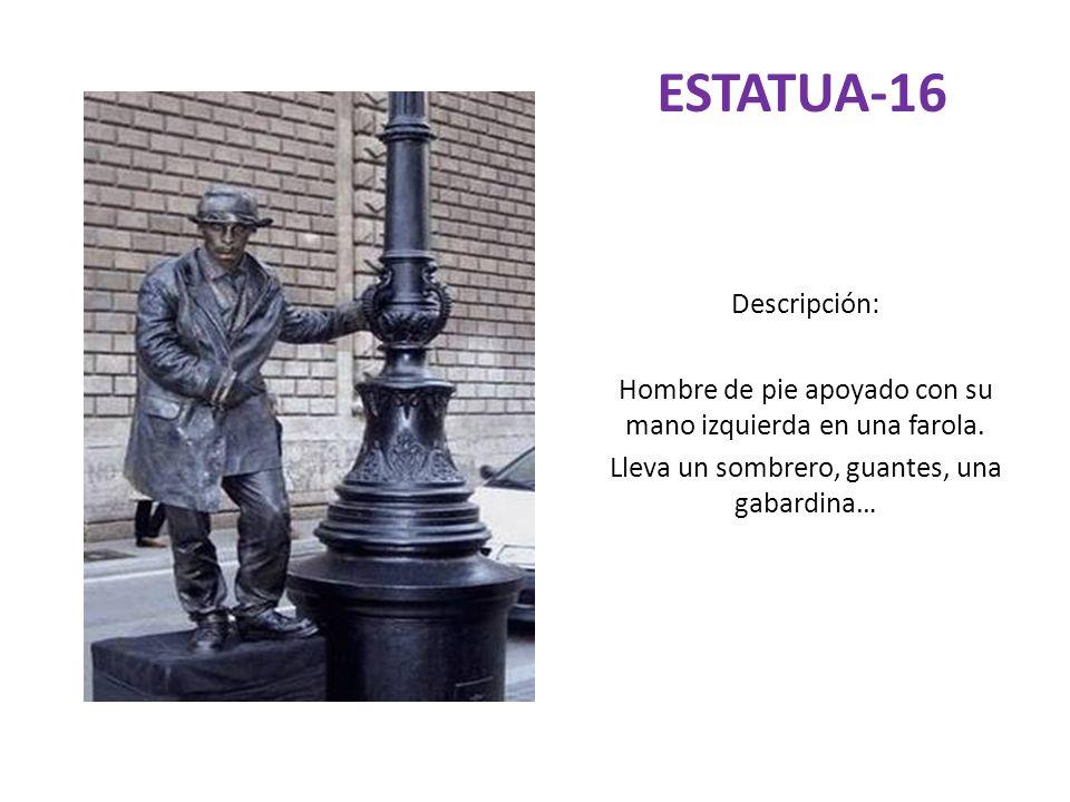 Estatua-16 Descripción: