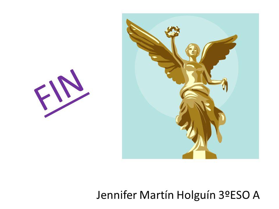 Jennifer Martín Holguín 3ºESO A