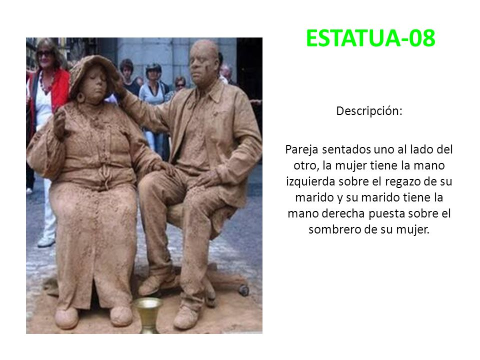 ESTATUA-08 Descripción:
