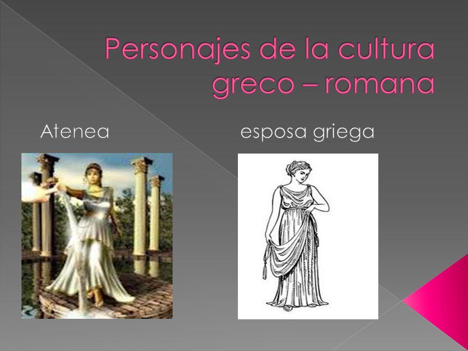 Personajes de la cultura greco – romana