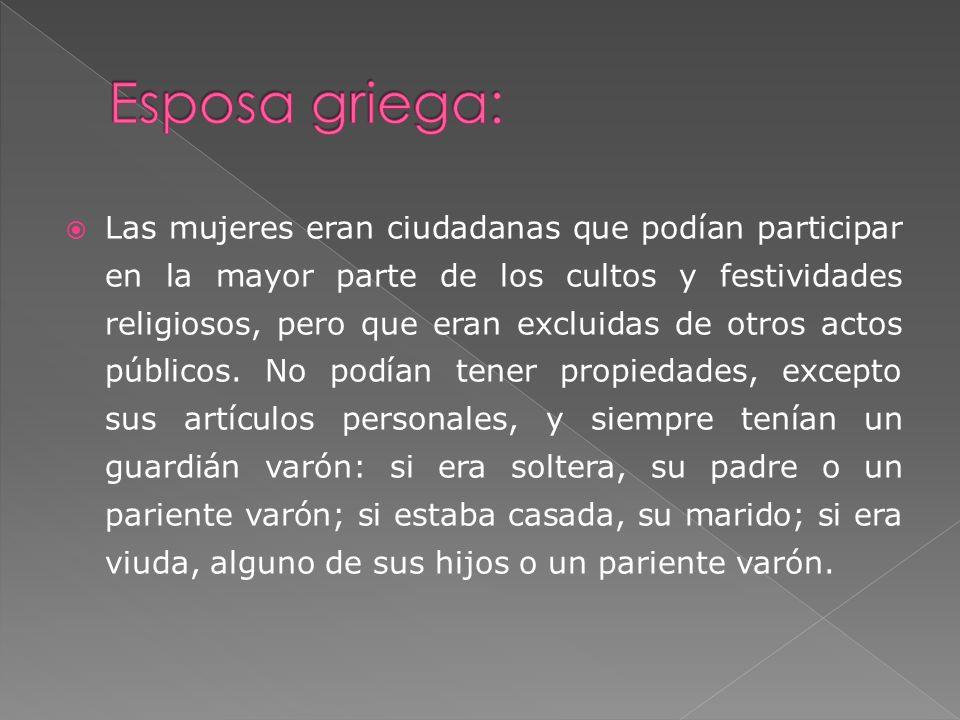 Esposa griega: